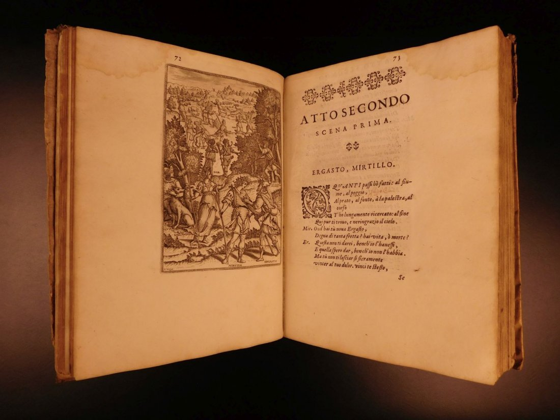 1605 Il Pastor Fido Guarini Italian Pastoral Tragic - 7