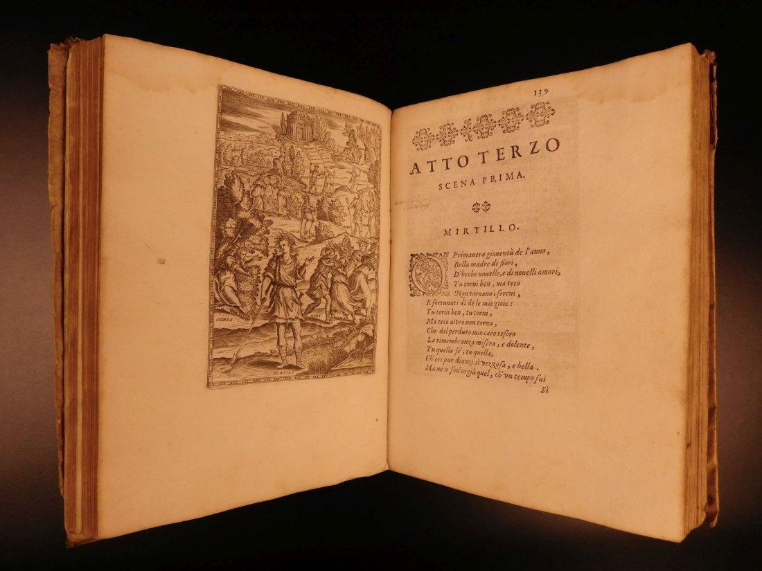 1605 Il Pastor Fido Guarini Italian Pastoral Tragic - 8