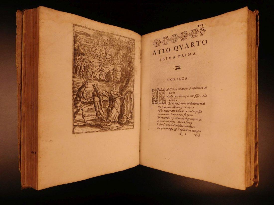 1605 Il Pastor Fido Guarini Italian Pastoral Tragic - 9