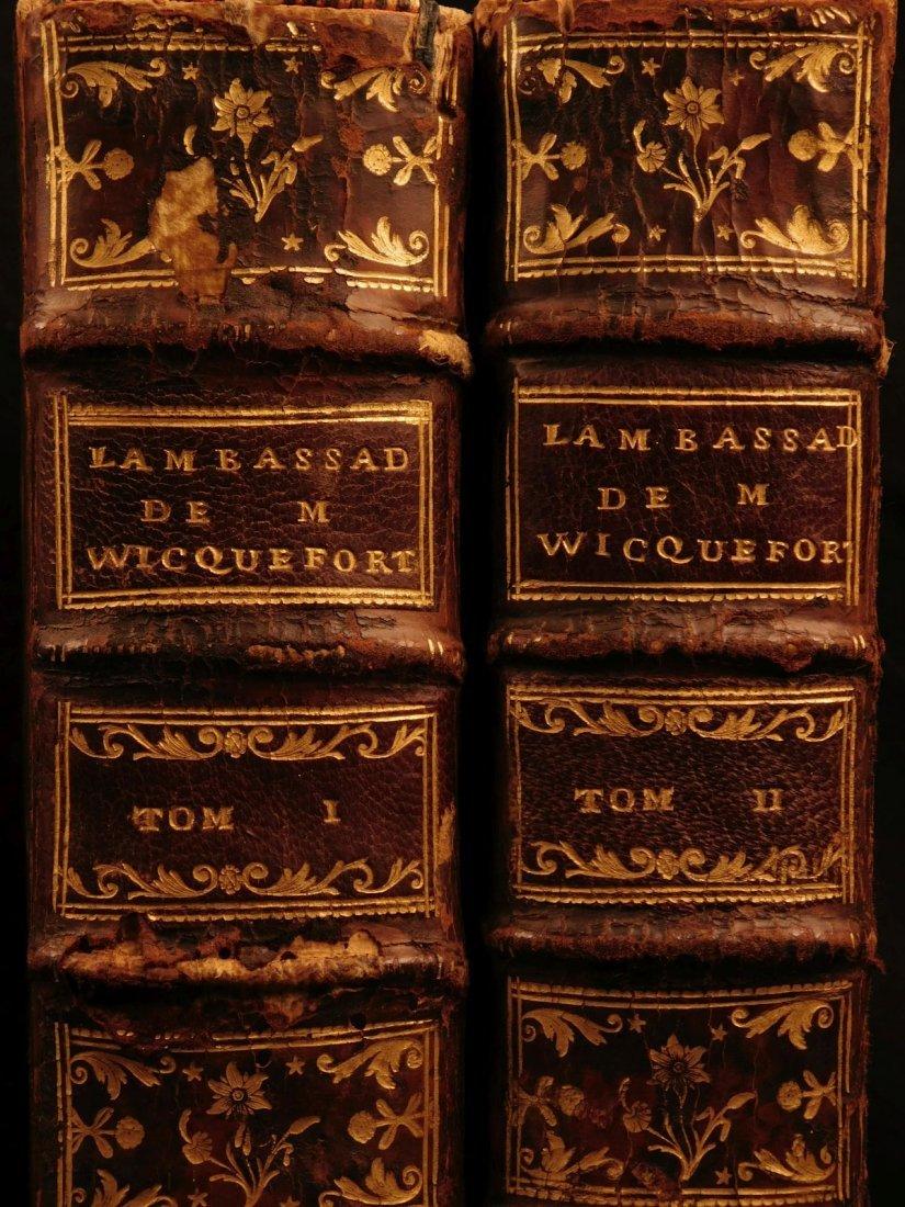 1724 Dutch Politics Diplomacy Abraham Wicquefort - 2
