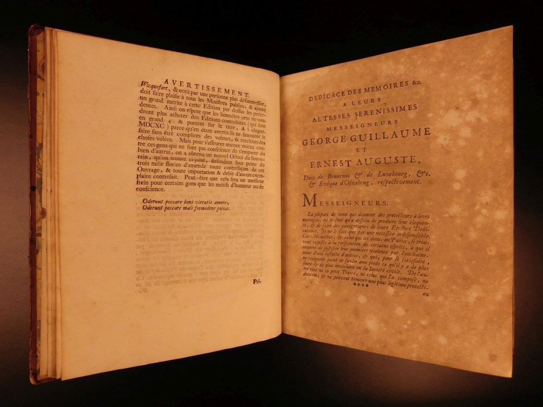1724 Dutch Politics Diplomacy Abraham Wicquefort - 6