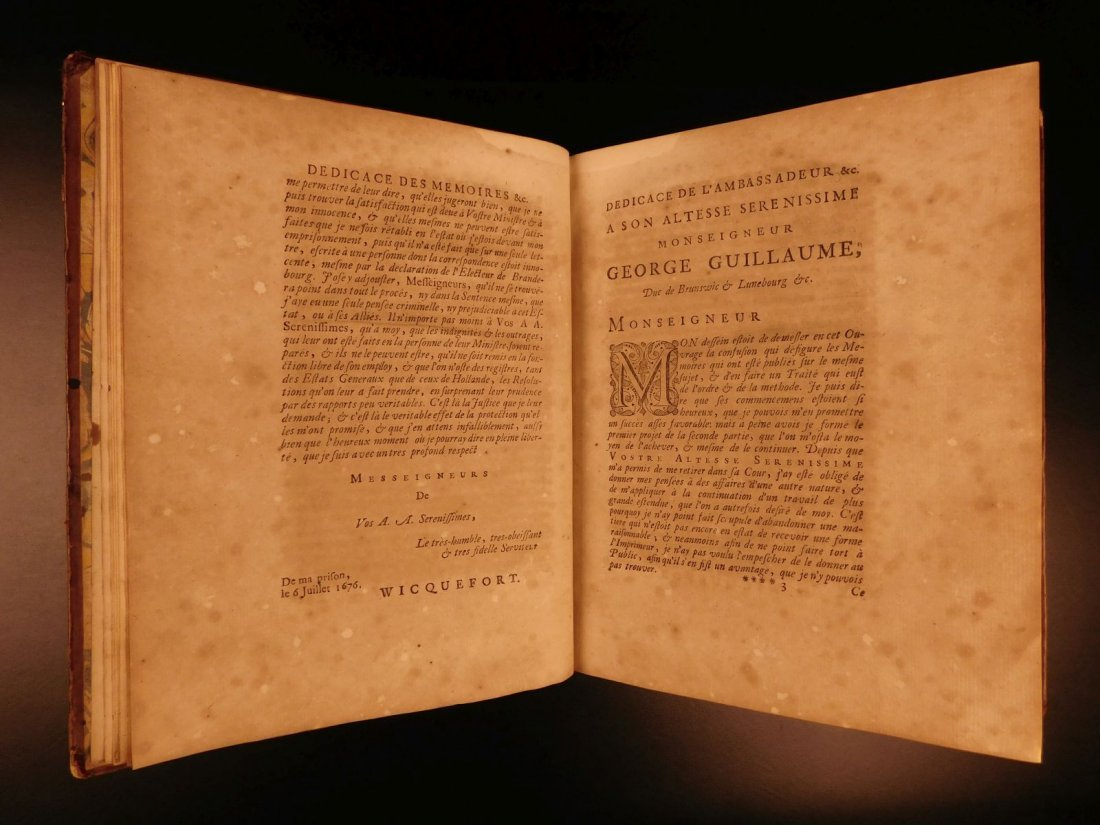 1724 Dutch Politics Diplomacy Abraham Wicquefort - 7