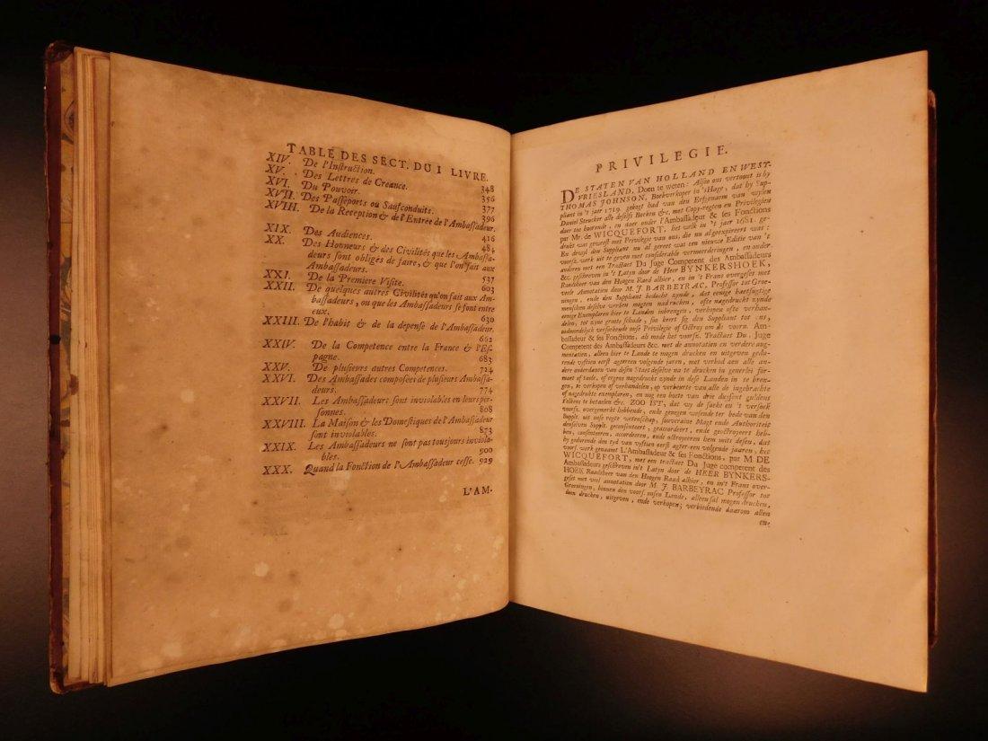 1724 Dutch Politics Diplomacy Abraham Wicquefort - 9