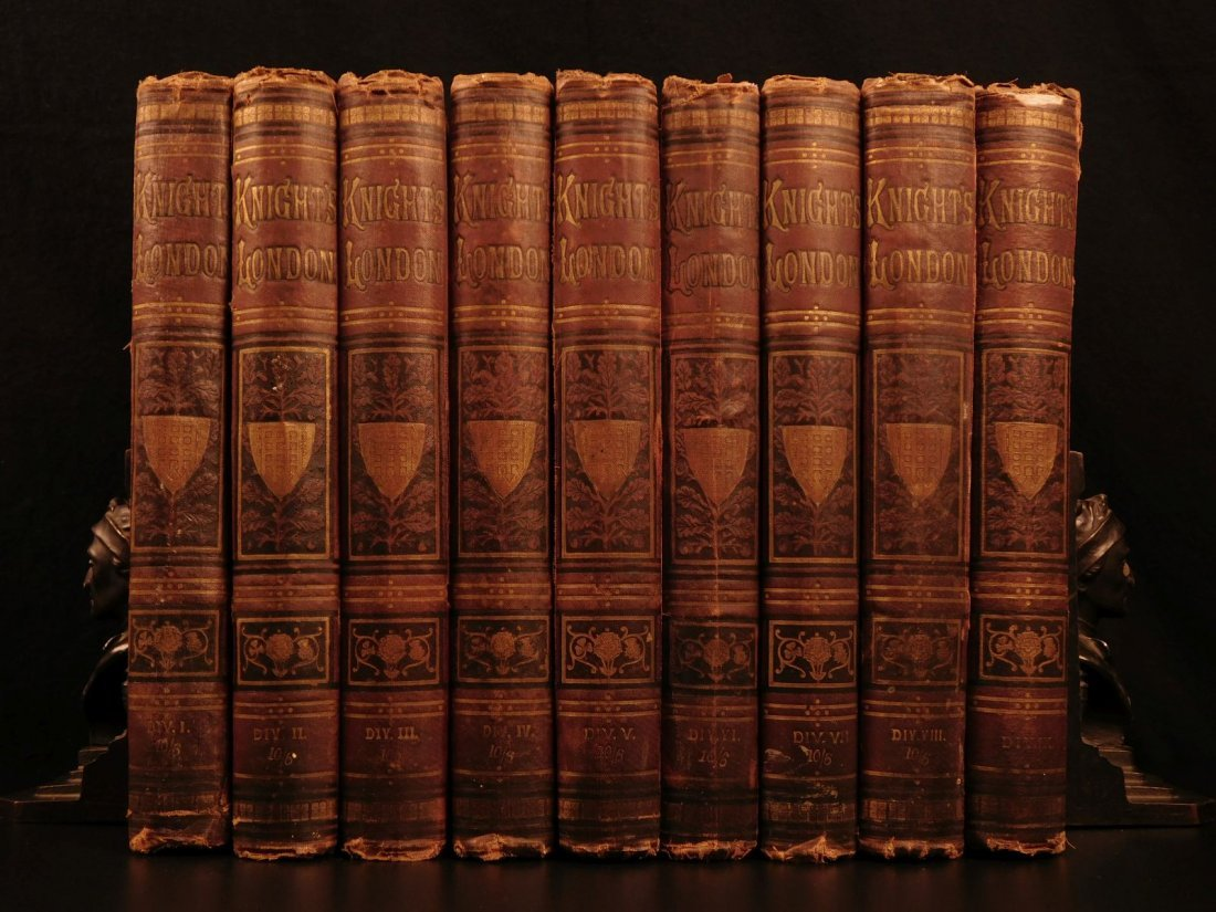 1870 Charles Knight LONDON Illustrated History Castles
