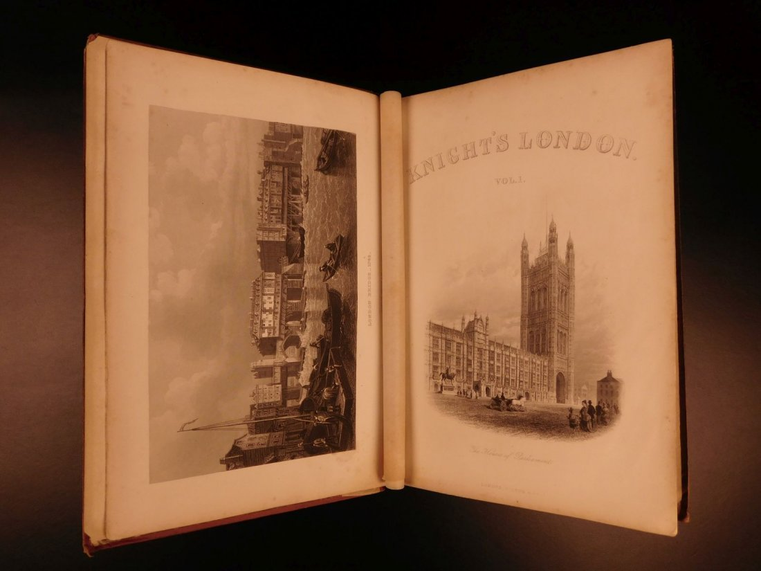 1870 Charles Knight LONDON Illustrated History Castles - 3