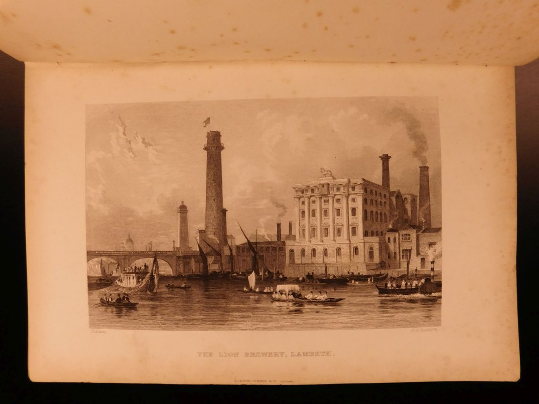 1870 Charles Knight LONDON Illustrated History Castles - 8