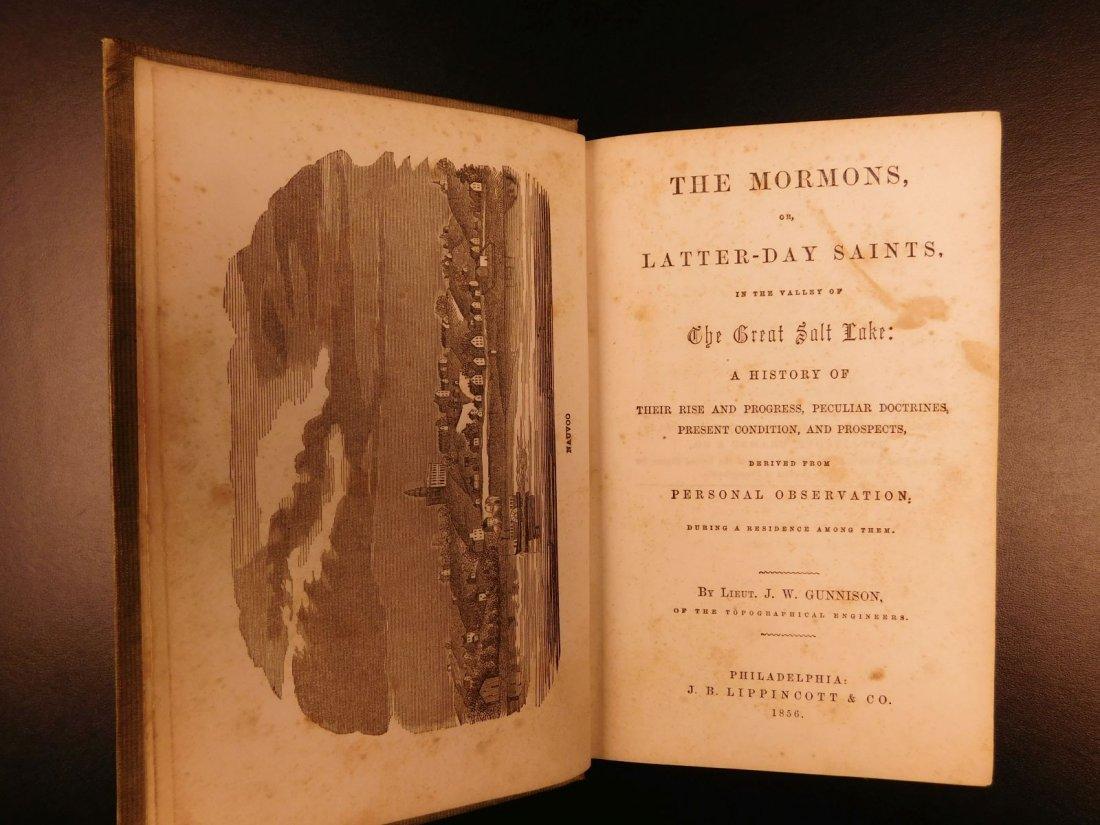 1856 Mormons Latter-Day Saints Mormonism Gold Rush Utah - 2