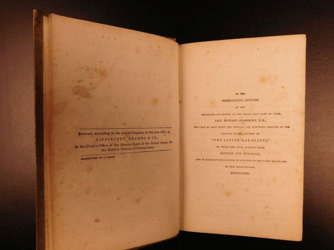 1856 Mormons Latter-Day Saints Mormonism Gold Rush Utah - 3