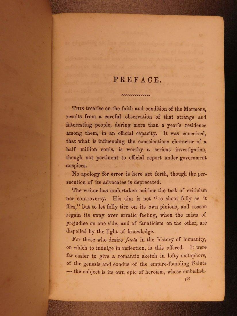 1856 Mormons Latter-Day Saints Mormonism Gold Rush Utah - 4