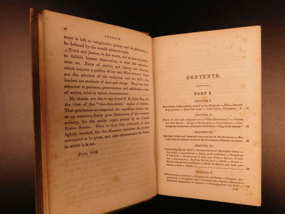 1856 Mormons Latter-Day Saints Mormonism Gold Rush Utah - 5