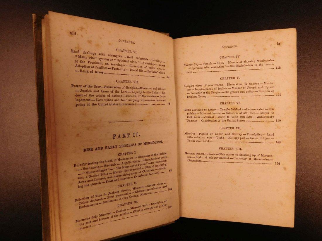1856 Mormons Latter-Day Saints Mormonism Gold Rush Utah - 6
