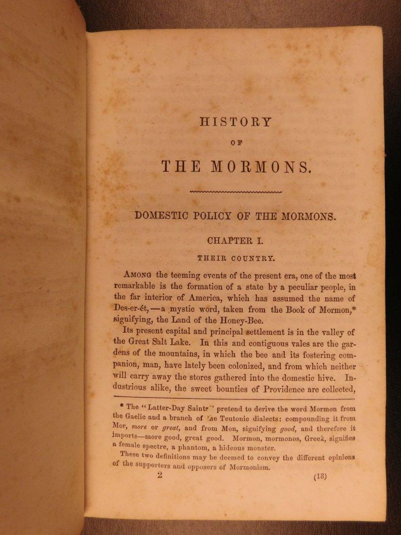 1856 Mormons Latter-Day Saints Mormonism Gold Rush Utah - 7