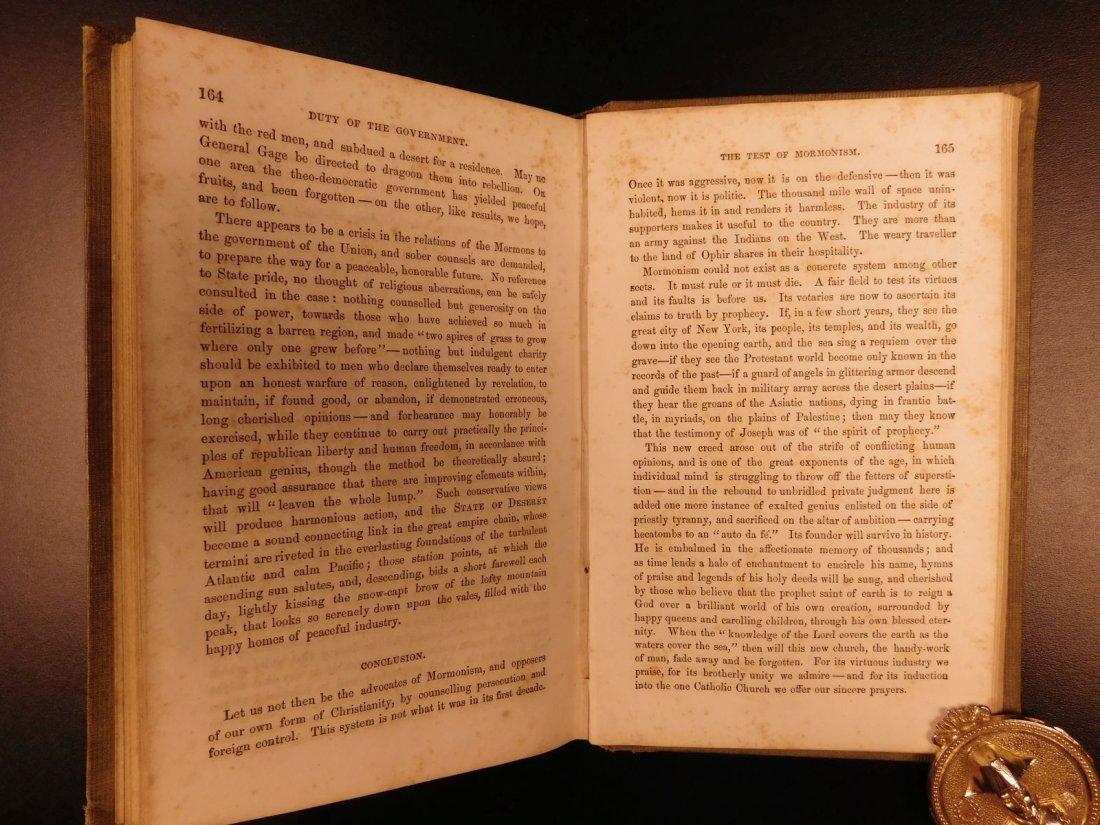 1856 Mormons Latter-Day Saints Mormonism Gold Rush Utah - 9