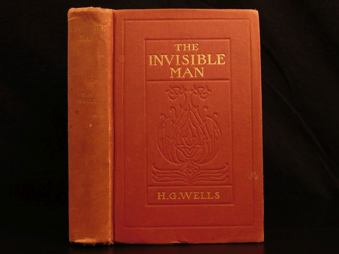 1897 HG Wells The Invisible Man Science Fiction Mystery