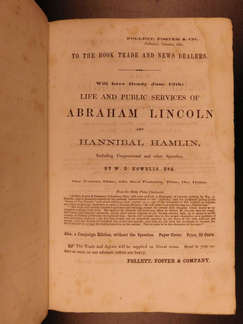 1860 1st ed Abraham Lincoln Douglas Debates American - 3