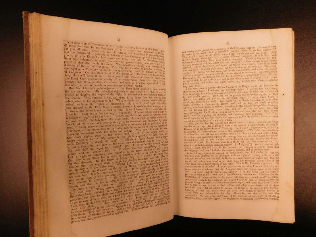 1860 1st ed Abraham Lincoln Douglas Debates American - 9