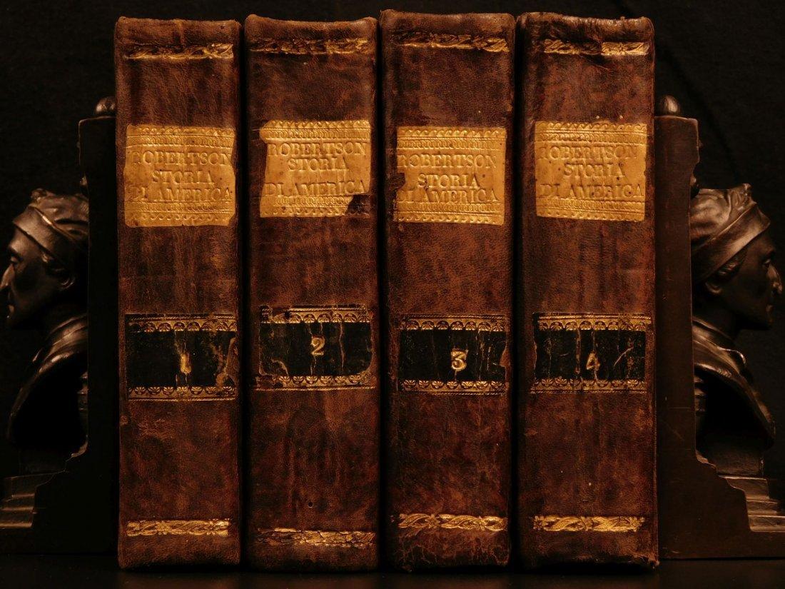 1779 History of America Robertson Columbus Cortez