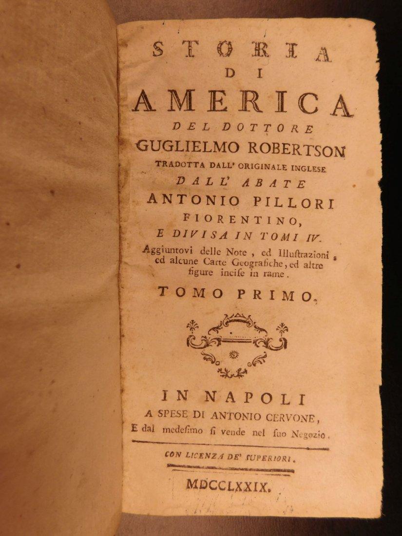 1779 History of America Robertson Columbus Cortez - 3