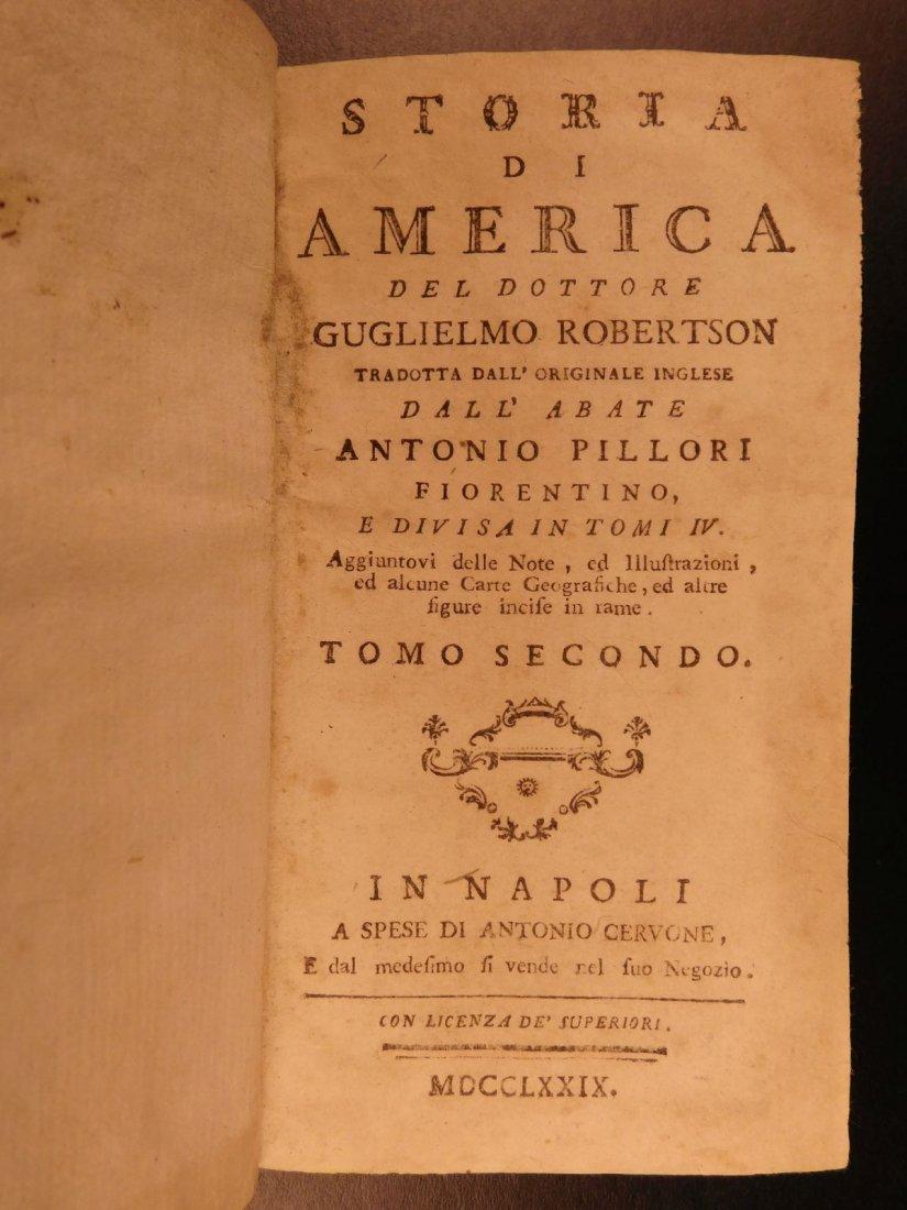 1779 History of America Robertson Columbus Cortez - 4