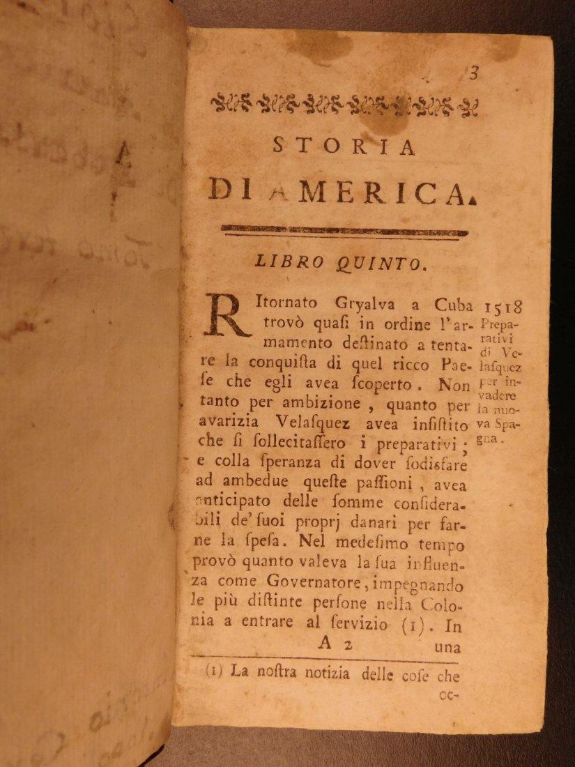 1779 History of America Robertson Columbus Cortez - 7