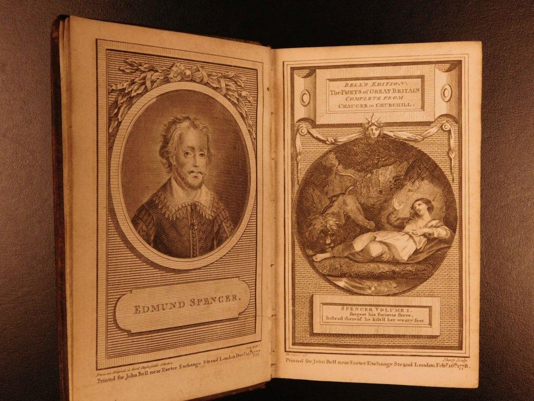 1778 Edmund Spenser Faerie Queene Fairy Queen John Bell - 3