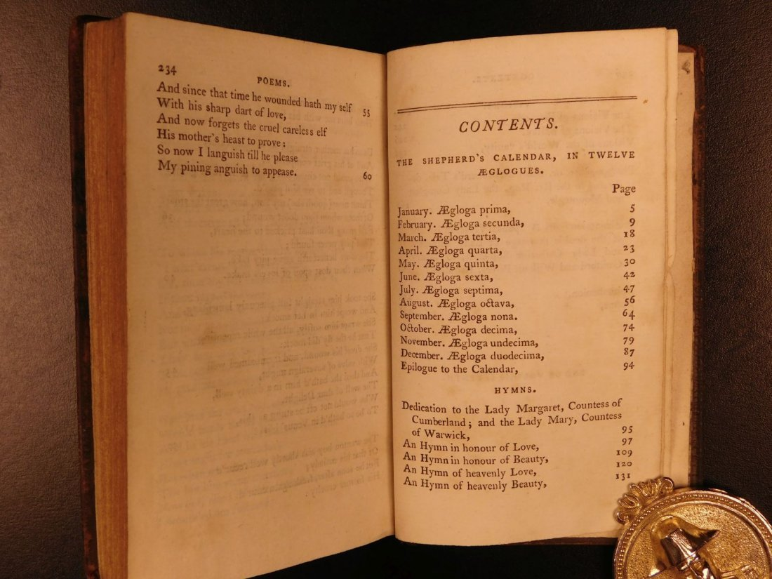 1778 Edmund Spenser Faerie Queene Fairy Queen John Bell - 9