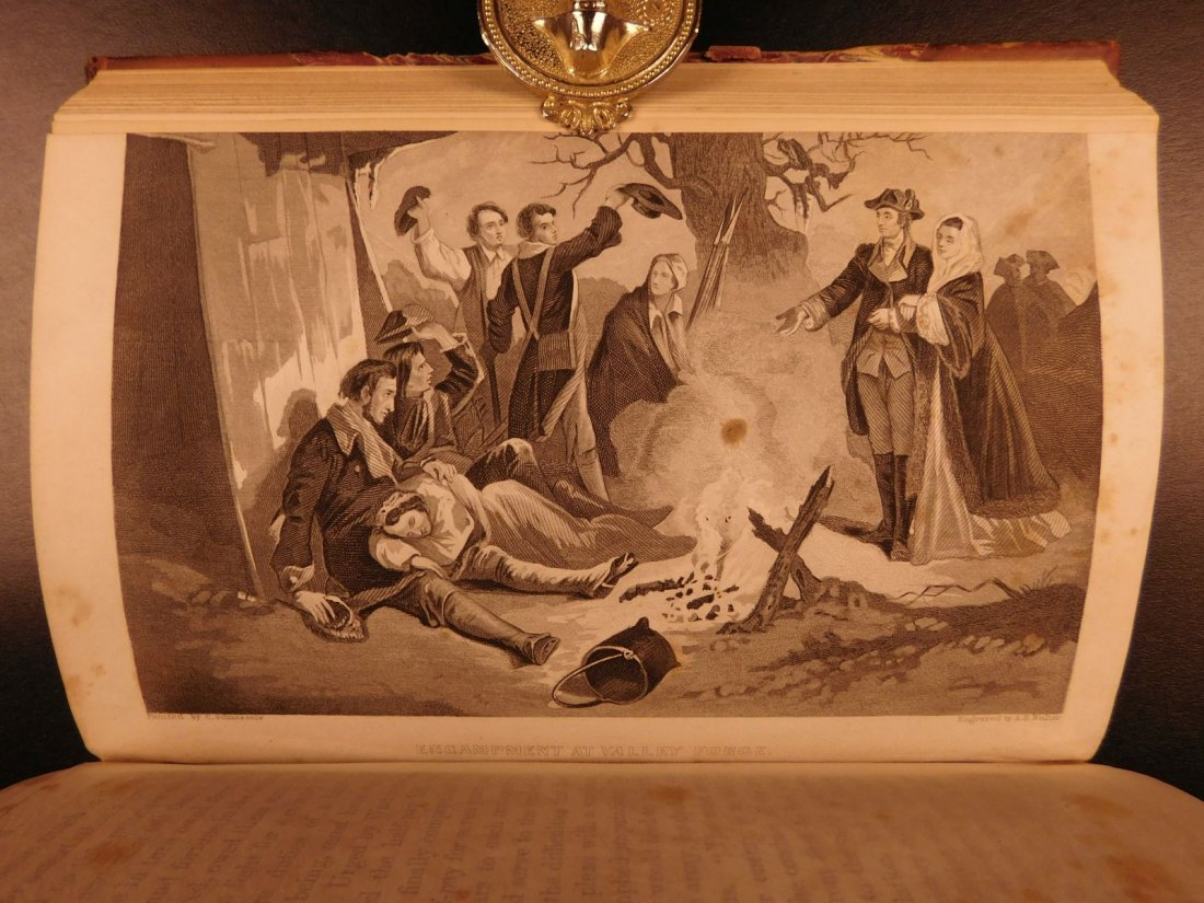 1860 Life of George Washington Illustrated Americana - 10