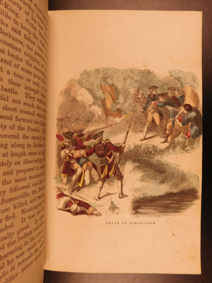 1860 Life of George Washington Illustrated Americana - 4