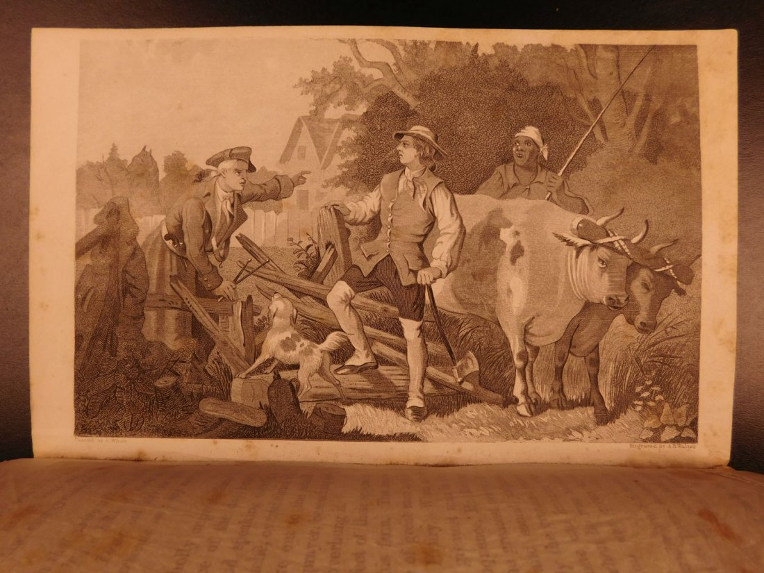 1860 Life of George Washington Illustrated Americana - 5