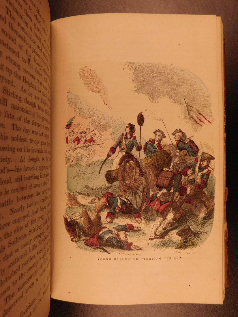1860 Life of George Washington Illustrated Americana - 7