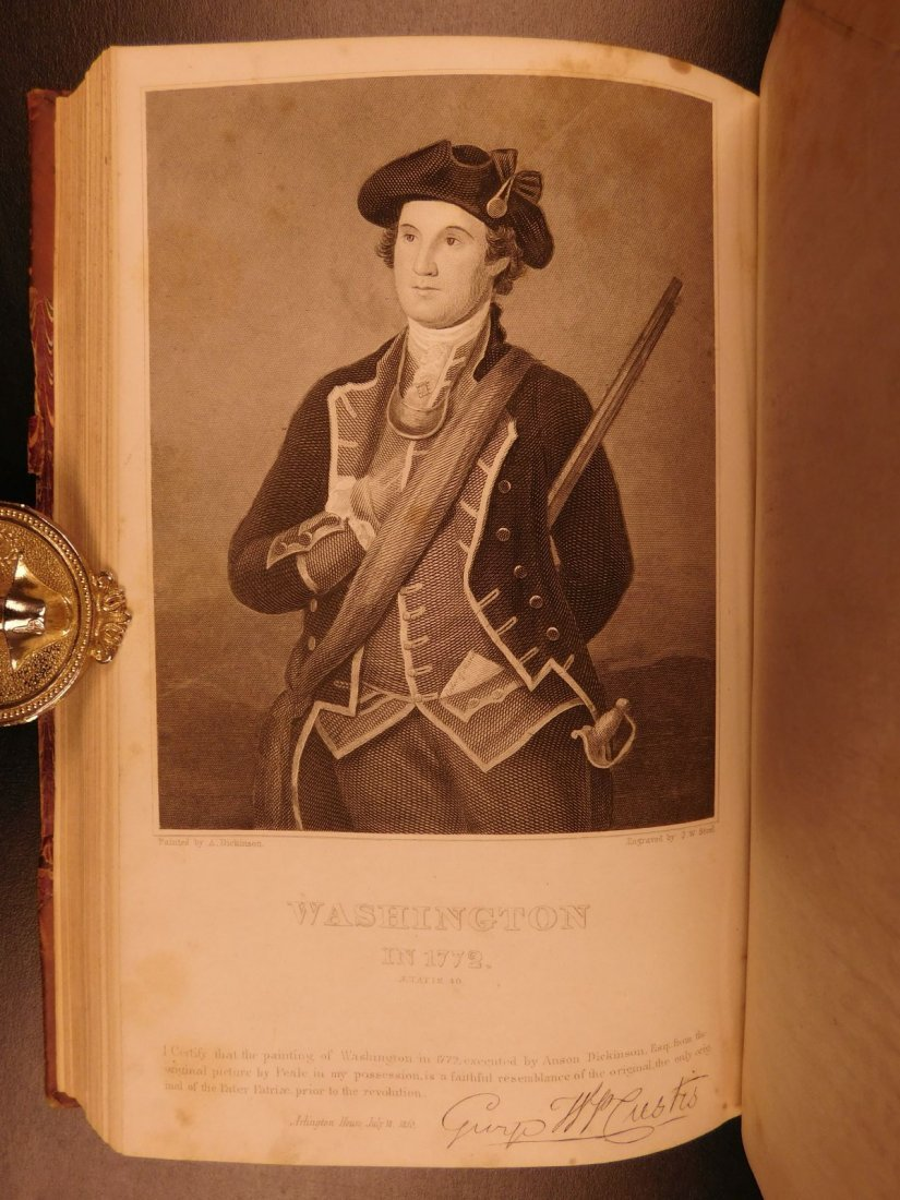 1860 Life of George Washington Illustrated Americana - 9