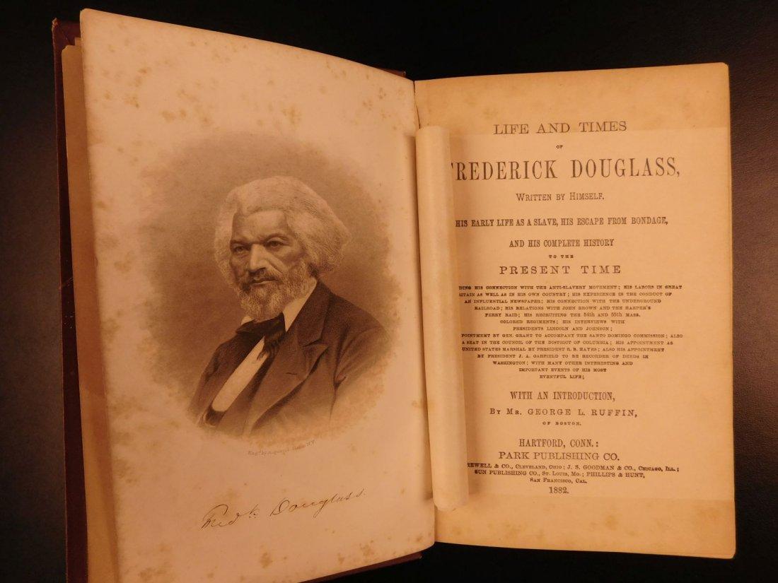 1882 Life of Frederick Douglass Illustrated SLAVERY - 2