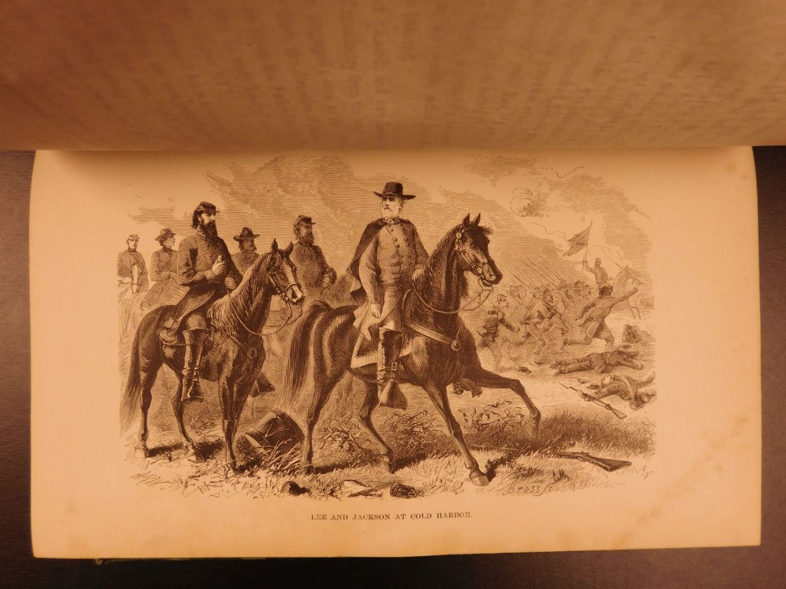 1871 Life of Robert E Lee Cooke Civil War Military - 4