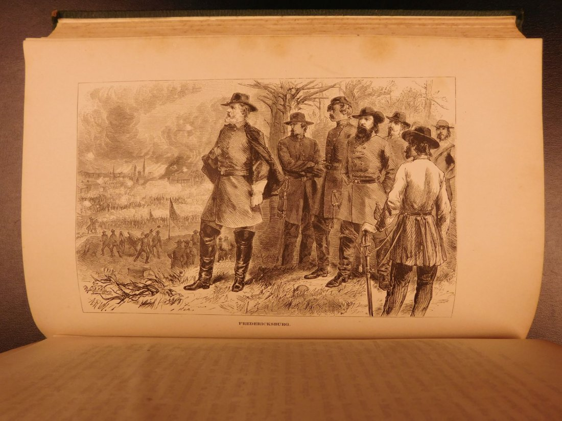 1871 Life of Robert E Lee Cooke Civil War Military - 6