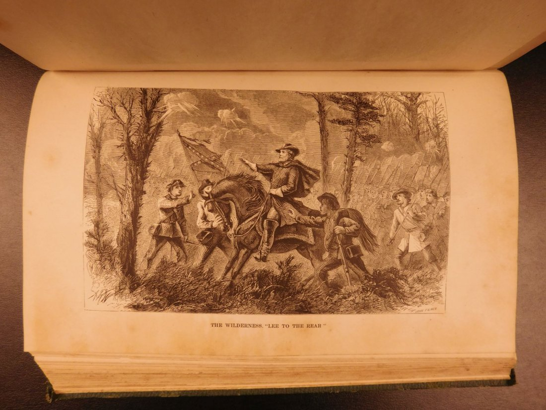 1871 Life of Robert E Lee Cooke Civil War Military - 9