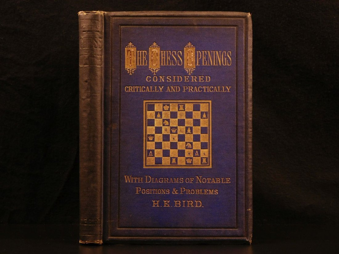 1880 Chess Openings Illustrated Strategy Rules Games