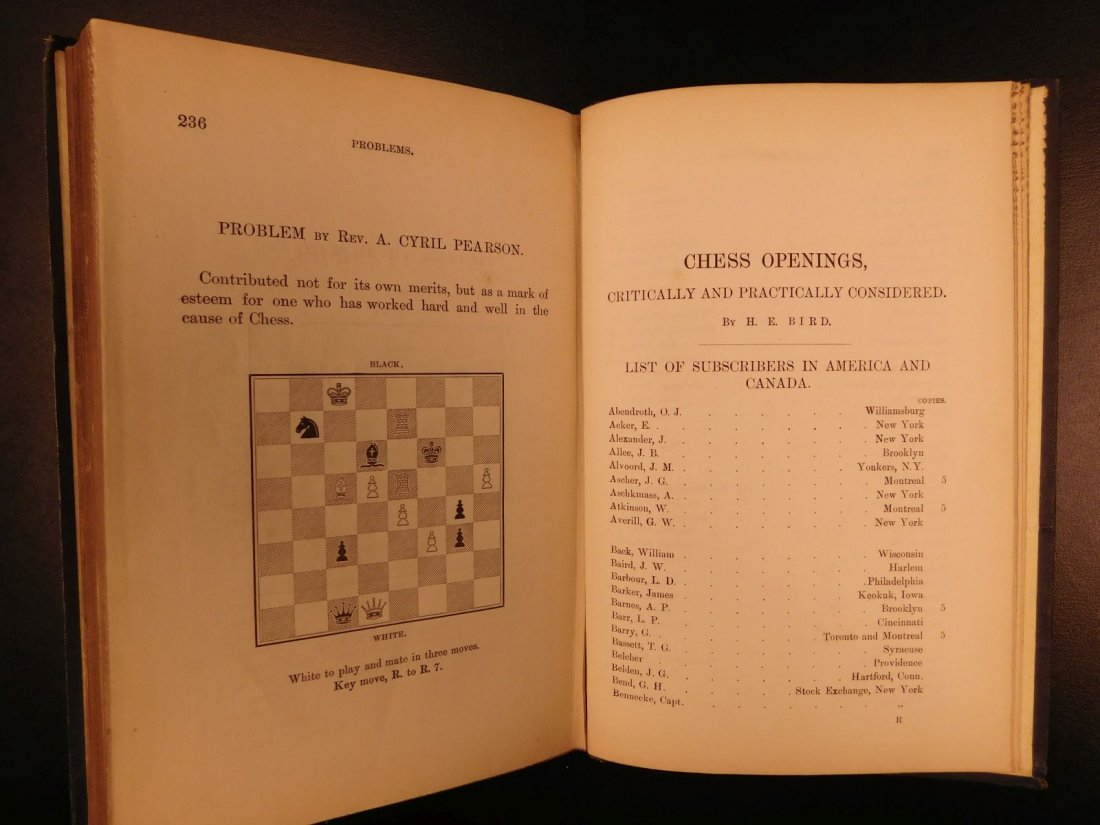 1880 Chess Openings Illustrated Strategy Rules Games - 9