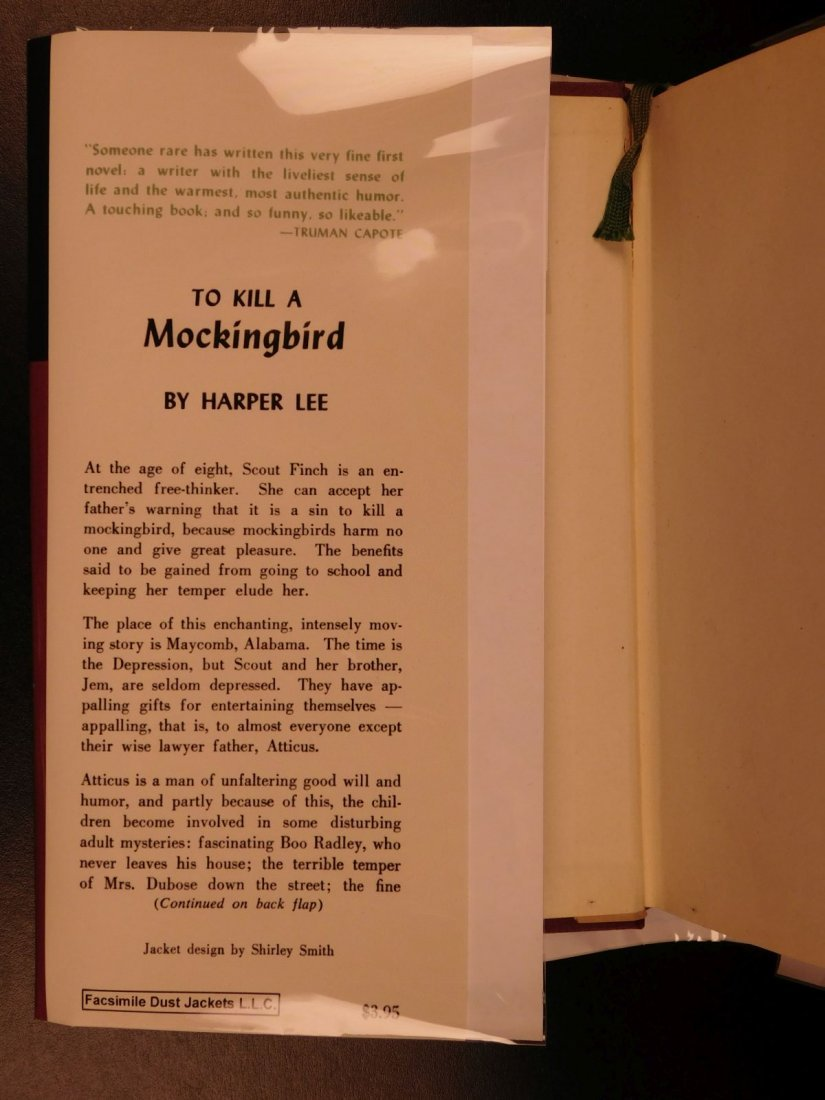 1960 Stated First Edition To Kill A Mockingbird - 2