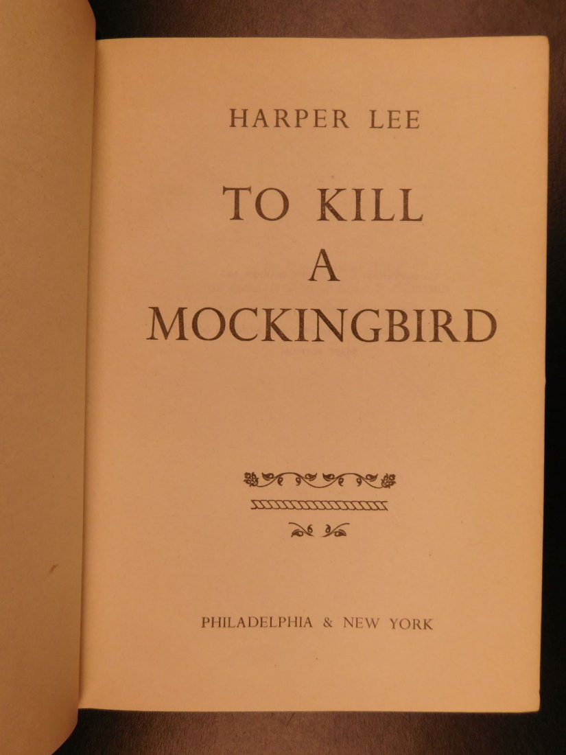 1960 Stated First Edition To Kill A Mockingbird - 6