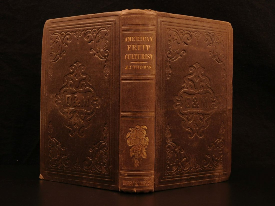 1851 American Wines Fruit Culturist Horticulture Botany