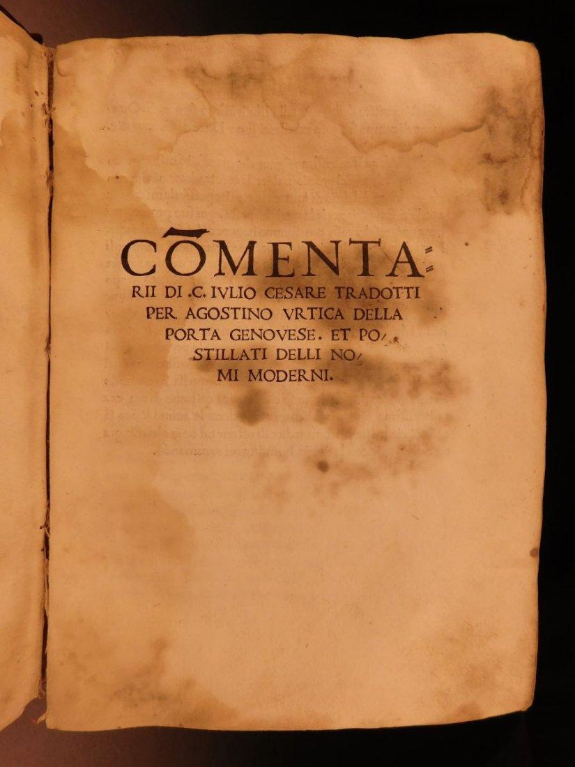 1517 Julius Caesar WAR Commentaries Military Tactics - 2