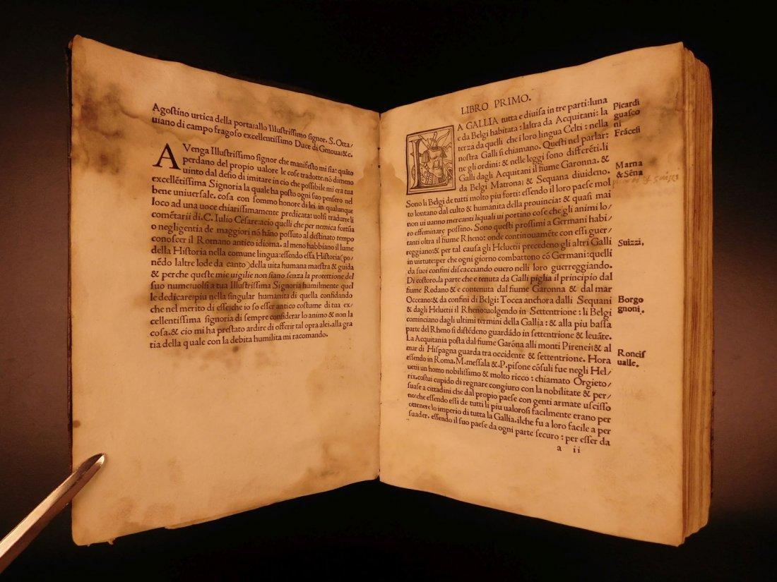 1517 Julius Caesar WAR Commentaries Military Tactics - 3