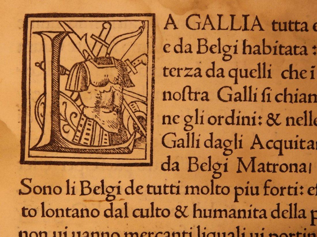 1517 Julius Caesar WAR Commentaries Military Tactics - 4
