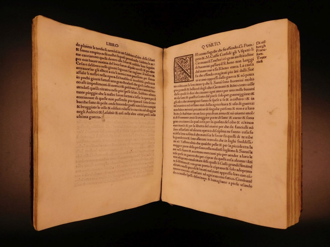 1517 Julius Caesar WAR Commentaries Military Tactics - 7