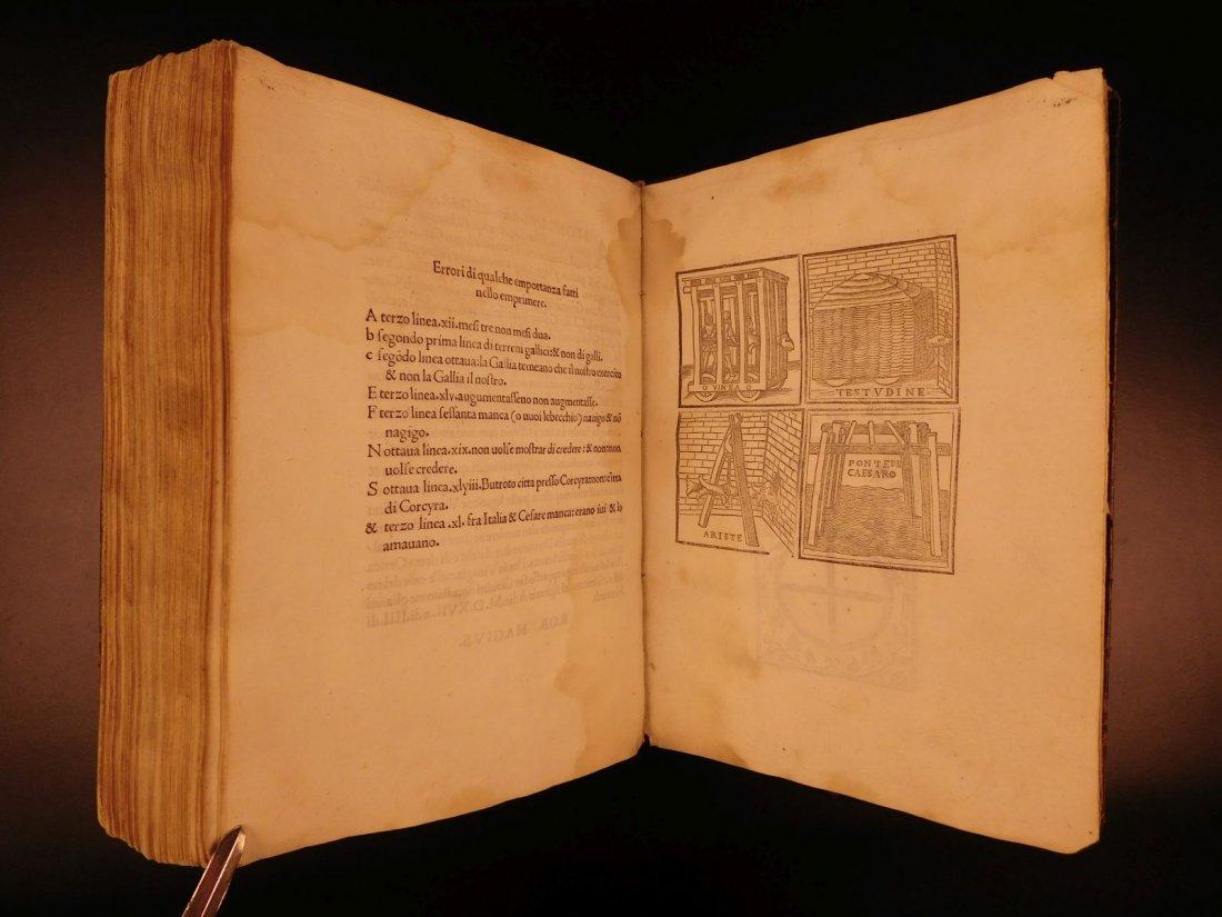 1517 Julius Caesar WAR Commentaries Military Tactics - 8