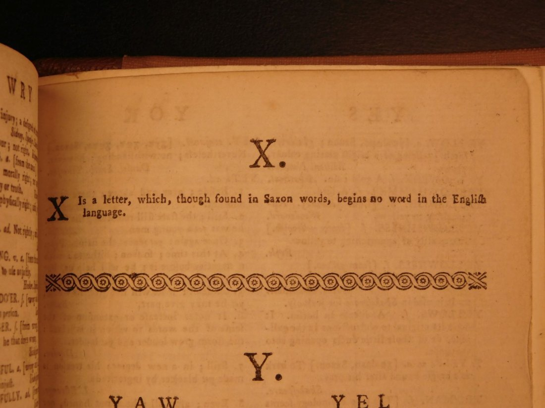 1778 Samuel Johnson FAMOUS Dictionary of English - 8