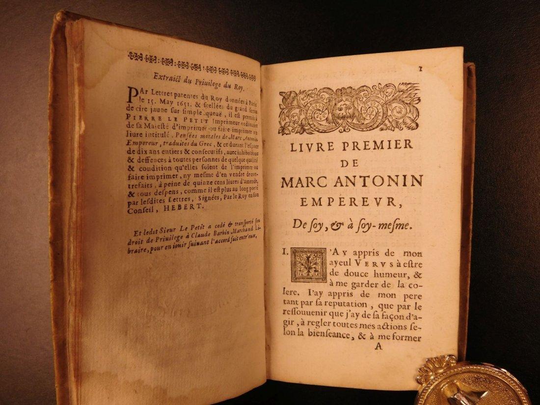 1658 Marcus Aurelius Meditations Stoic Philosophy - 5