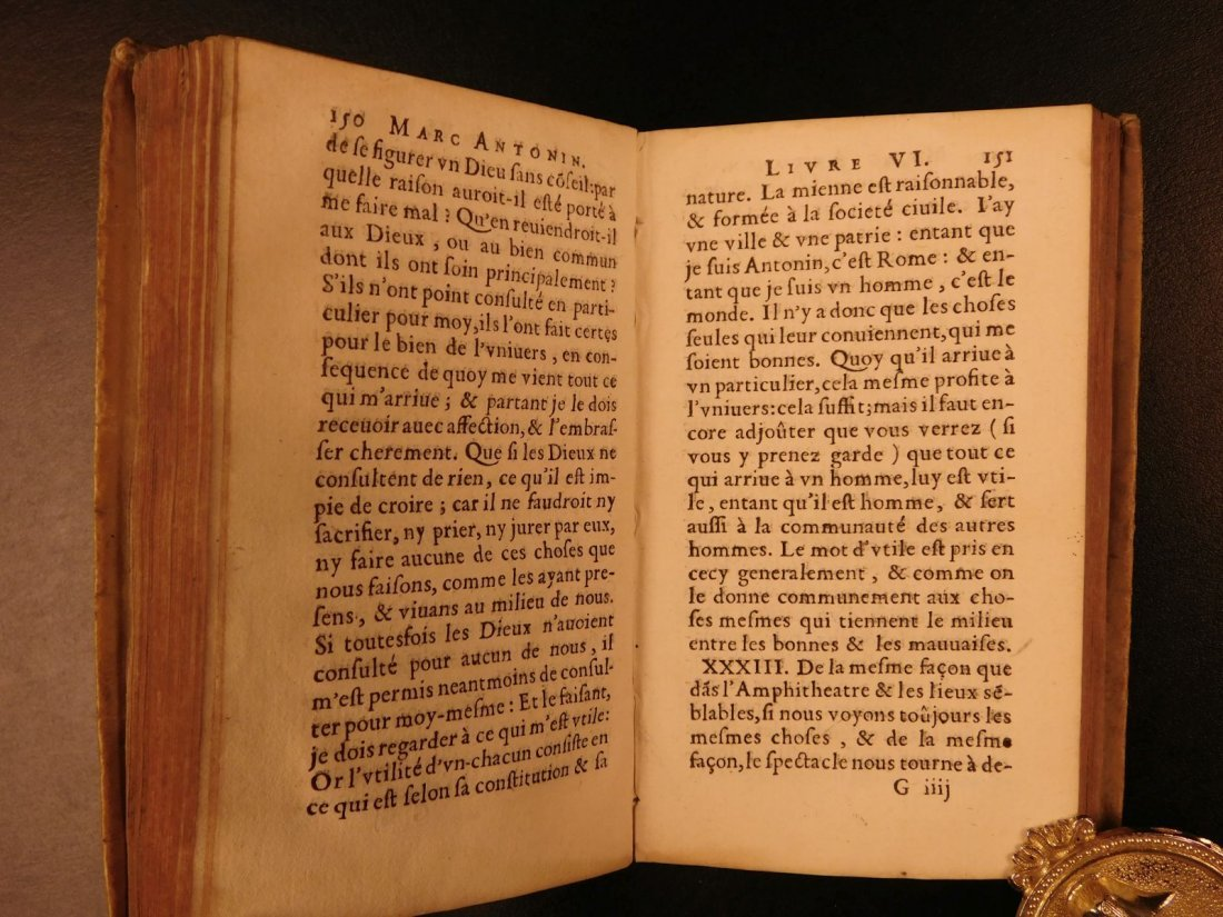 1658 Marcus Aurelius Meditations Stoic Philosophy - 8