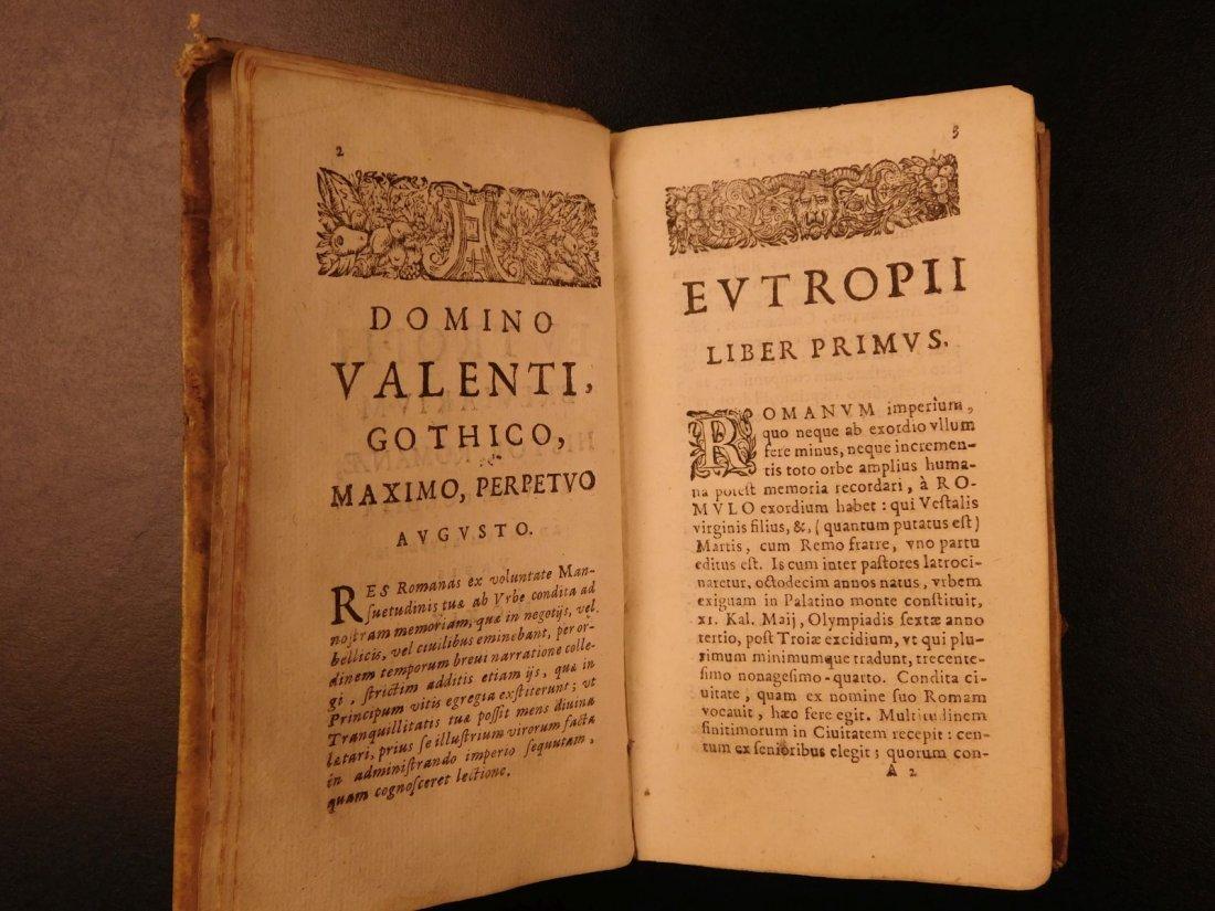 1672 Eutropius Breviarium History ROME Valens Pagan - 5