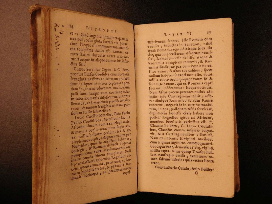 1672 Eutropius Breviarium History ROME Valens Pagan - 6